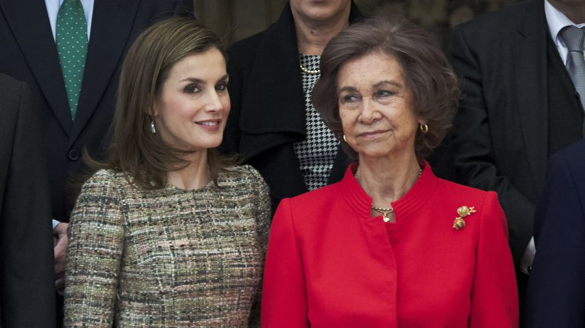 Königin Letizia und Königin Sofia bei den National Sports Awards