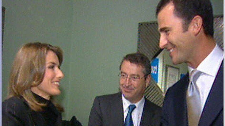 Königin Letizia von Spanien und König Felipe 2003