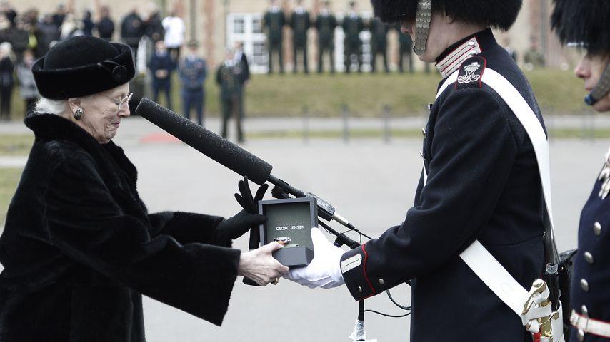 Königin Margrethe: 1. Auftritt nach Prinz Henriks Tod!
