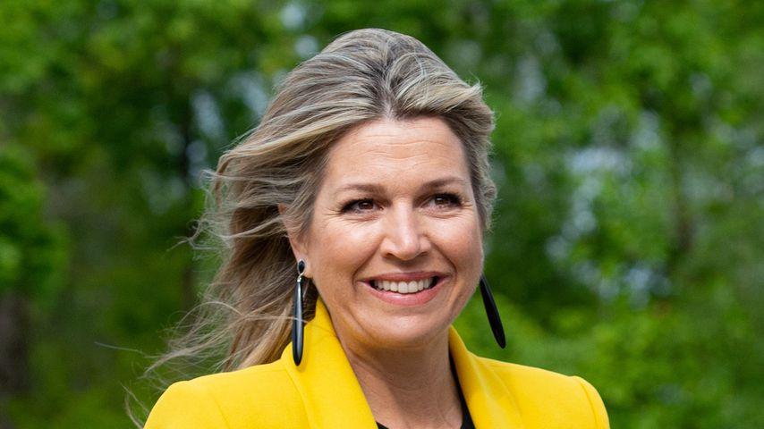 Cooler Sommer-Look: Königin Maxima überrascht in Knallgelb