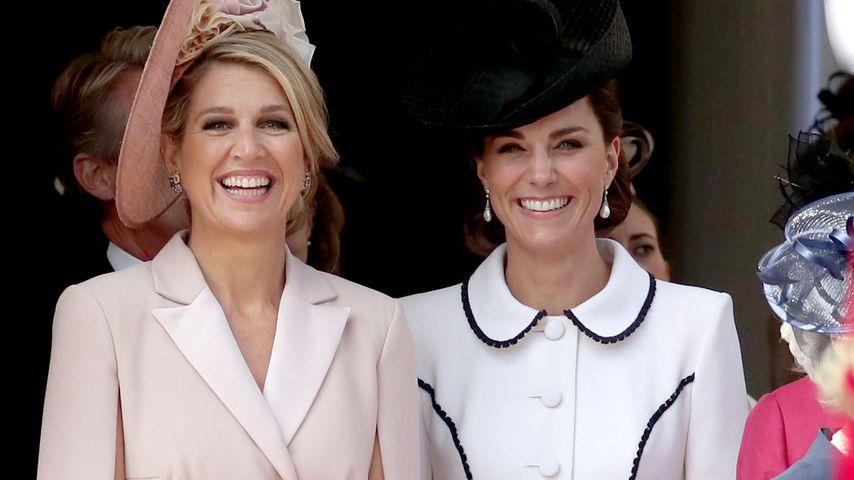 Zu altbacken? Hier stiehlt Königin Maxima Kate die Show
