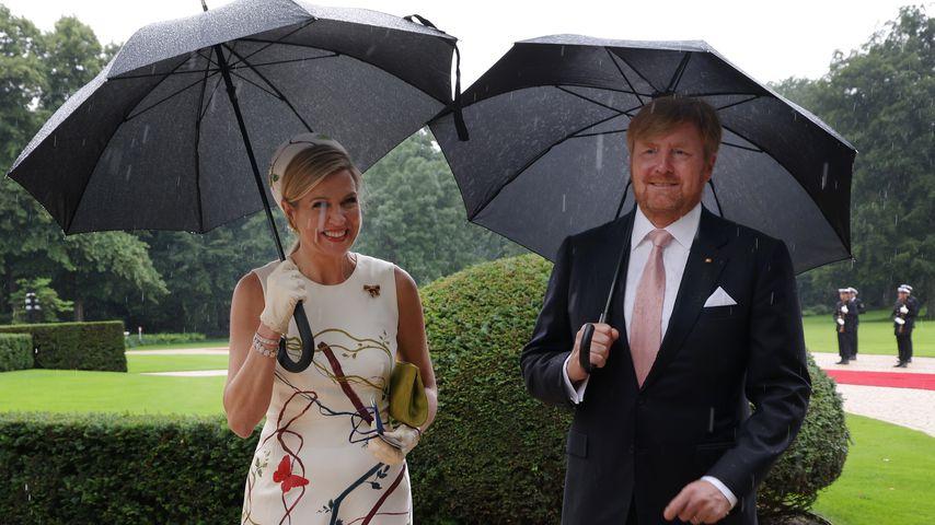 Königin Máxima und König Willem-Alexander in Berlin im Juli 2021
