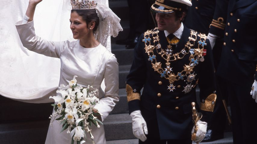 Königin Silvia von Schweden und Carl Gustaf