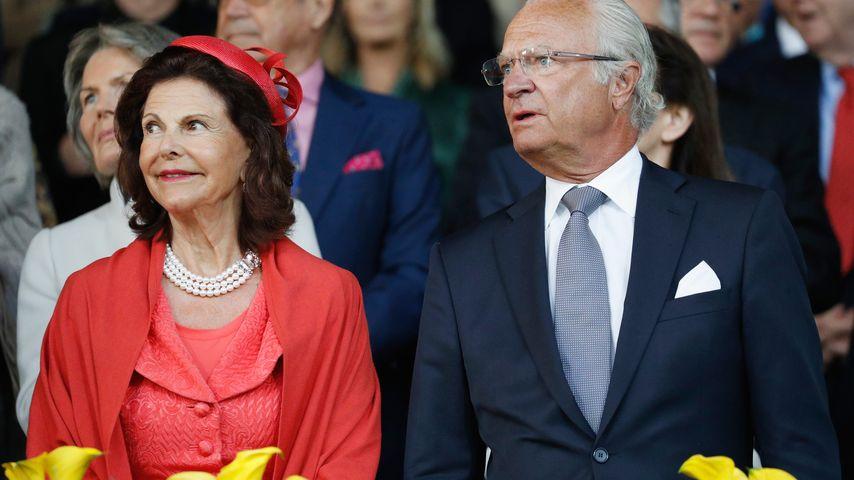 Königin Silvia und König Carl Gustaf beim CHIO 2016 in Aachen