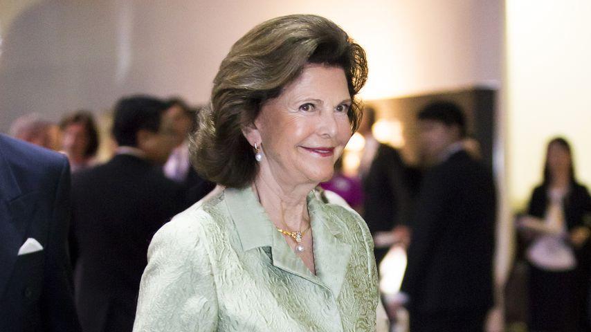 Königin Silvia von Schweden im April 2018