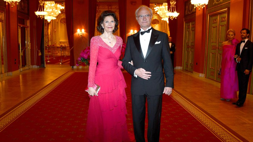 Königin Silvia von Schweden und ihr Mann Carl Gustaf, schwedisches Königspaar