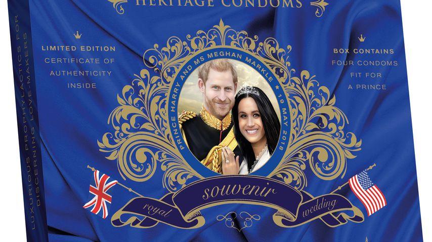 Kondome mit Prinz Harry- und Meghan Markle-Motiv