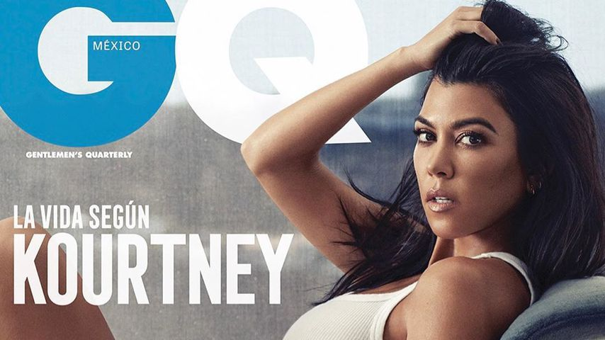 Freizügig auf GQ-Cover: Kourtney Kardashian ist gerne nackt!