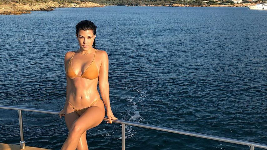 Kourtney Kardashian in Italien