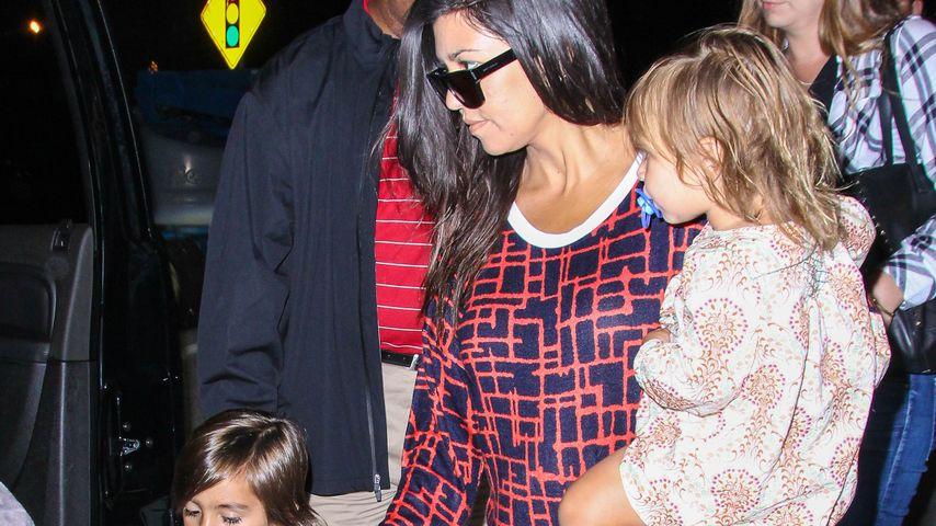 Übernimmt sich die schwangere Kourtney Kardashian?
