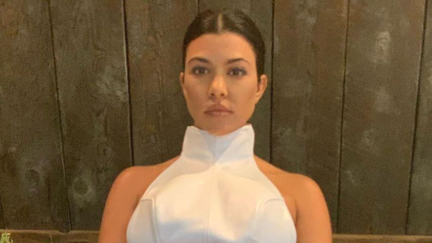Kourtney Kardashian im Juni 2020 in Wyoming