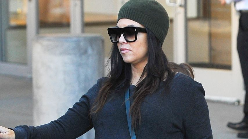 In Kürze: Kourtney Kardashians Baby kommt bald!