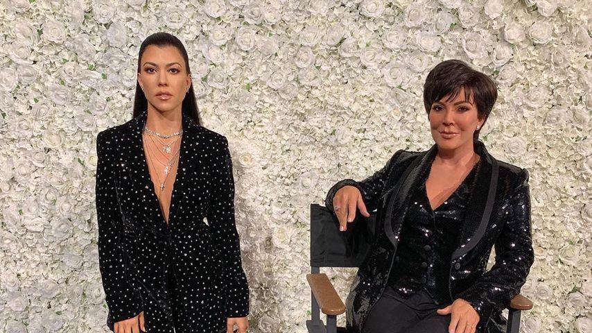 Kourtney K. & Mama Kris Jenner haben jetzt auch Wachsfiguren