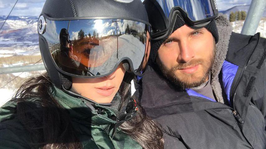 Kourtney Kardashian und Scott Disick in Aspen