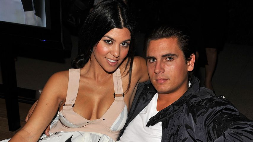 Kourtney Kardashian und Scott Disick im September 2008