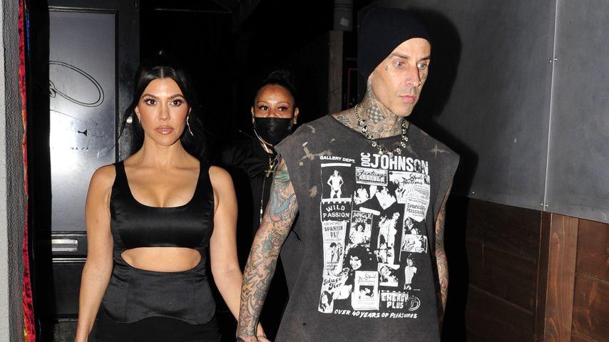 Kourtney Kardashian und Travis Barker, 2021
