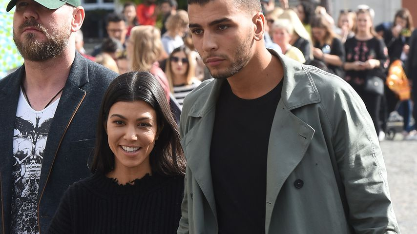 Kourtney Kardashian und Younes Bendjima im Urlaub in Paris