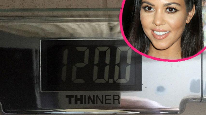 Kourtney Kardashian: Stolz auf ihr neues Gewicht!
