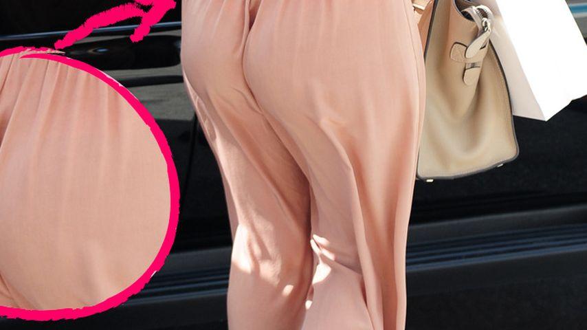 Ups! Kourtney Kardashian: Po frisst Hose