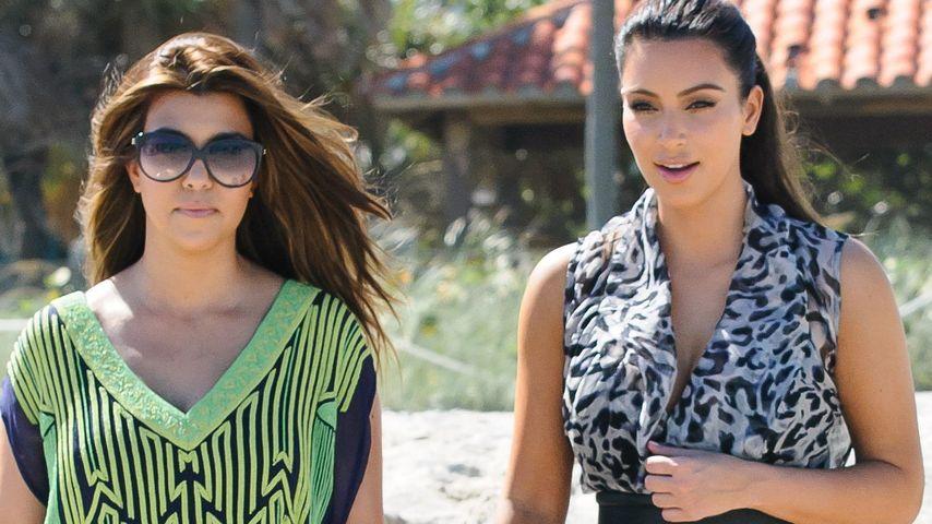 Kim Kardashian: Kourtney ist nicht velobt!