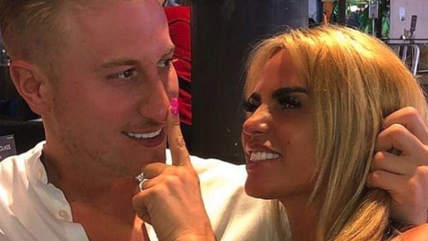 Kris Boyson und Katie Price in Thailand im April 2019