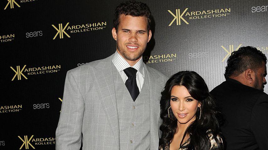 Kris Humphries und Kim Kardashian im August 2011 in Hollywood