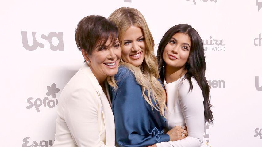 Kris Jenner, Khloe Kardashian und Kylie Jenner