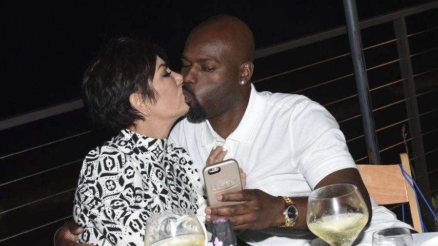 Kris Jenner und Corey Gamble bei einer Party im Nobu Malibu