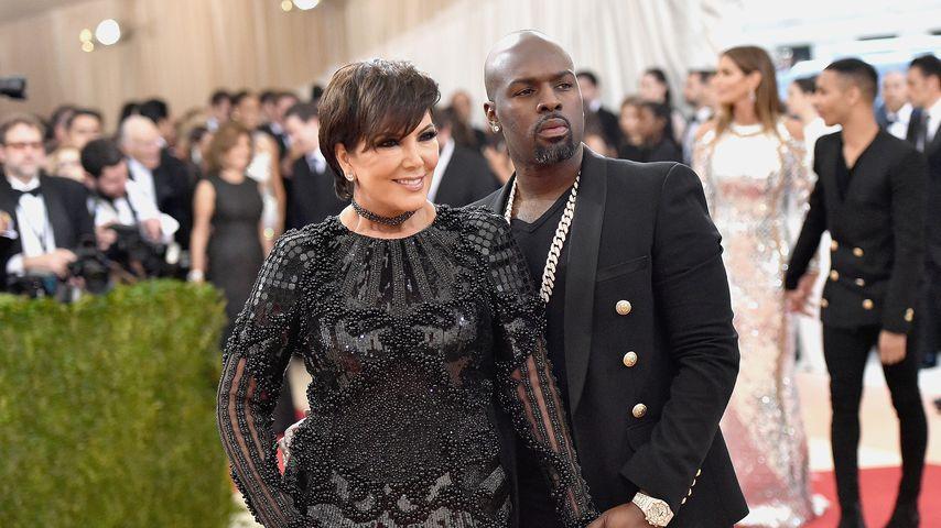 Kris Jenner und On-Off-Lover Corey Gamble bei der Met Gala 2016
