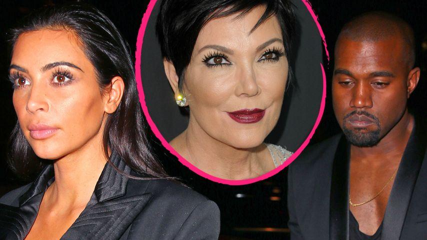Kris Jenner: Kimye-Scheidung wäre der Untergang!