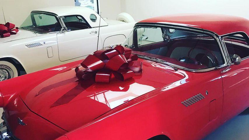 Kris Jenners und MJs 1956er Ford Thunderbird