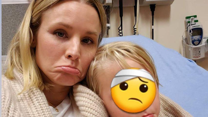 Finger blutig: Kristen Bell muss mit Tochter in Notaufnahme