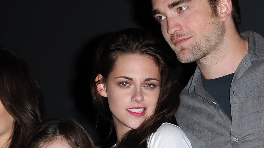 Kristen Stewart, Robert Pattinson und Mackenzie Foy