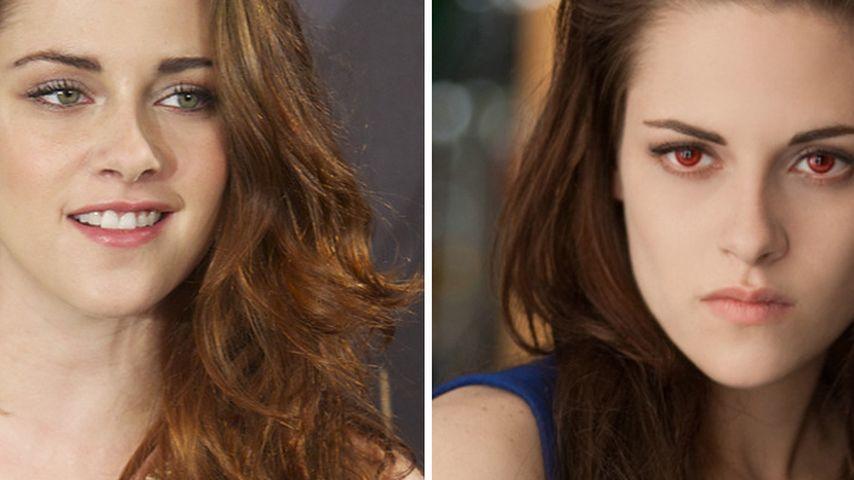 Kristen Stewart vs. Bella: Wer ist die Schönere?