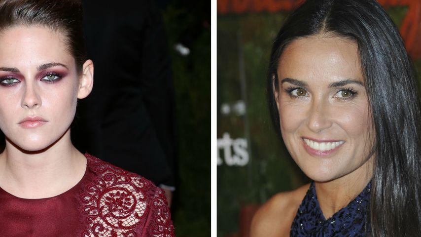 Kristen Stewart wünscht sich Demi Moore als Mutter