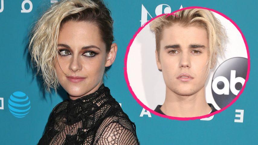 Neue Frisur: Kristen Stewart mit schrägem Justin-Bieber-Look