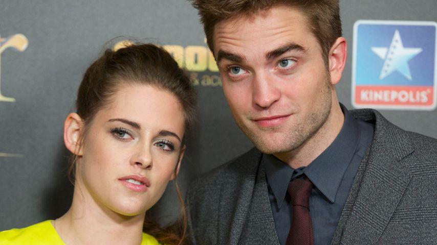 Kristen Stewart und Robert Pattinson im November 2012