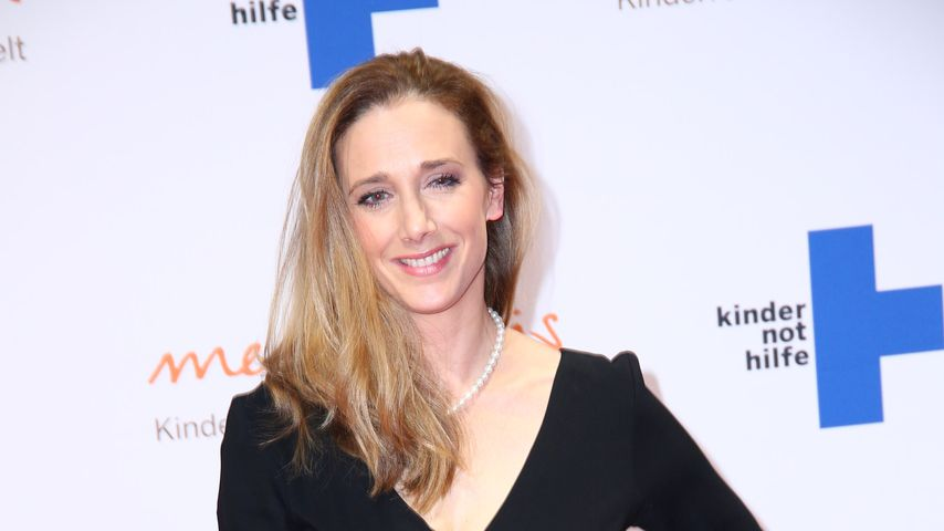Kristin Meyer auf dem Medienpreis der Kindernothilfe im November 2017
