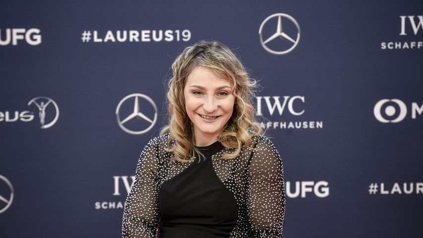 Kristina Vogel bei den Laureus Awards 2019