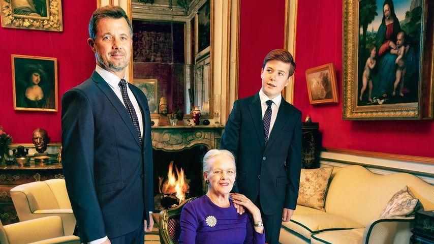 Dänische Royals: Drei Generationen auf einem Foto vereint!