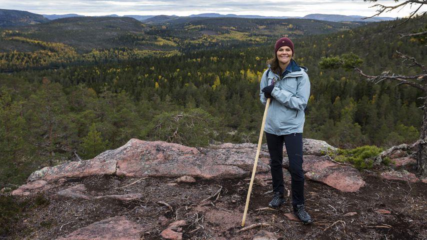 Kronprinzessin Victoria von Schweden im Skuleskogen National Park
