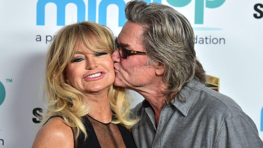 Kurt Russell und Goldie Hawn bei einem Event in Beverly Hills im November 2017