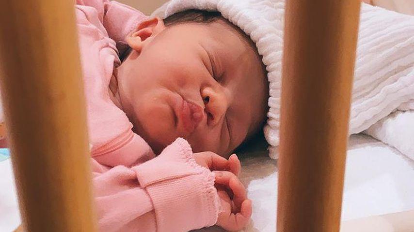 Kyla Harrison kurz nach ihrer Geburt