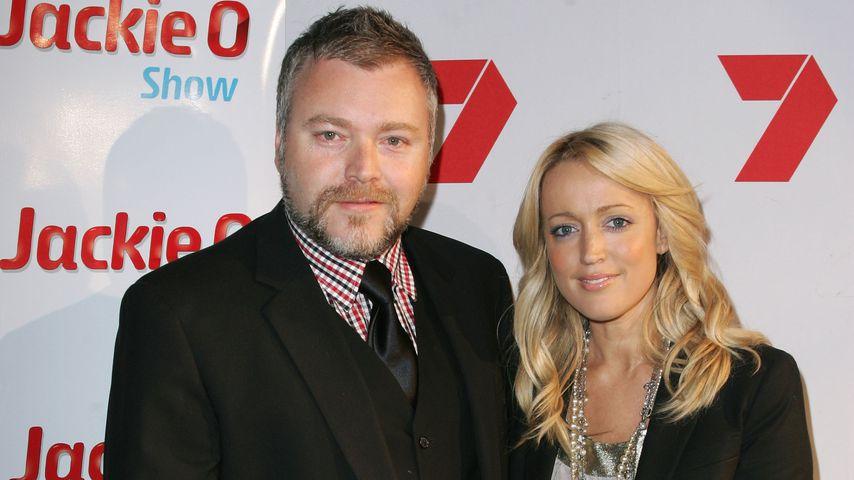 Kyle Sandilands und Jackie O in der Cargo Bar in Sydney, 2009