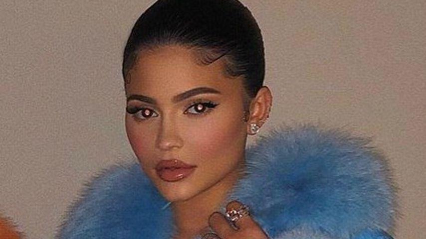 Kylie Jenner bekommt Shitstorm für blaue Echtpelzjacke