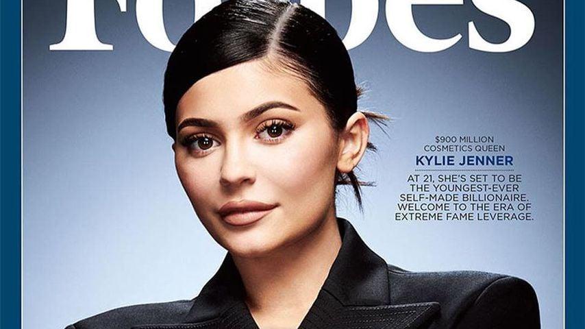 Kylie Jenner auf dem Cover des Forbes-Magazins