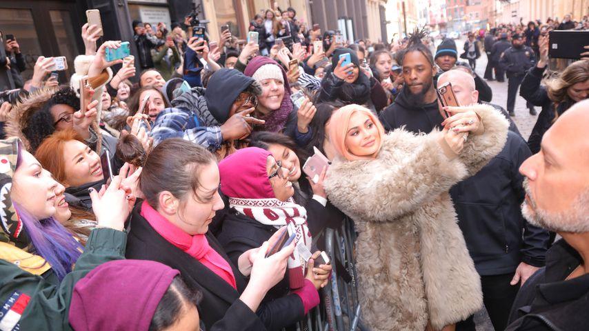 New York im Ausnahmezustand: Fettes Chaos wegen Kylie Jenner