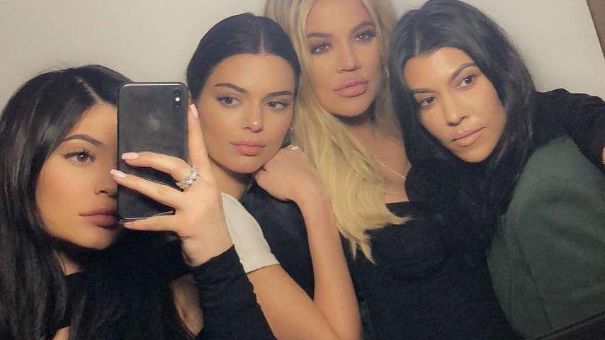Kylie Jenner, Kendall Jenner, Khloe Kardashian und Kourtney Kardashian