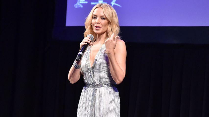 Kylie Minogue auf der Bühne in Melbourne