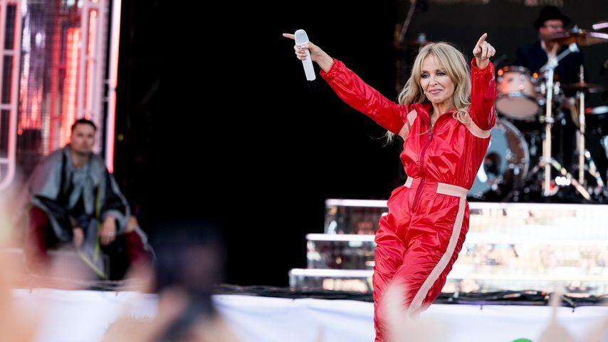 Nach Krebs-Heilung: Kylie Minogue gibt ihr Glastonbury-Debüt